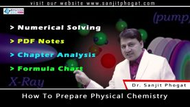 """Class 12th Chemistry Important Tips & Trick on """"How to Prepare Physical Chemistry"""""""
